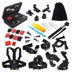 ขาย Action Camera Accessories Kit Chest Head Strap Floating Grip Handlebar Seatpost Monopod Suction Cup For Go Pro Sjcam Eken Intl ถูก