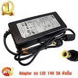 โปรโมชั่น Adapter จอ Led Lg และ 14V 3A Samsung S19B150N S19B300Nw Sa300 Sa330 Sa350 Samsung Lg Adapter 14V 3A 6 5 X 4 4Mm หัวเข็ม Black Intl Dc