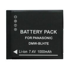 แบตกล้อง Panasonic Gf8 Gf9 รุ่นใหม่ High Capacity Battery แบตเตอรี่กล้องพานาโซนิค Panasonic Lumix Gm1 Gm5 Gf7 แบตเตอรี่กล้อง รหัส Dmw Blh7 Blh7E Replacement Battery For Panasonic ใน ลพบุรี