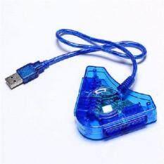แยกจอยเกมส์ PS2 To USB Adapter PU-302 (China game)