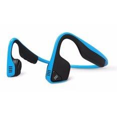 ราคา Aftershokz Trekz Titanium Bone Conduction Bluetooth Sports Headphones With Microphone Blue Intl Aftershokz เป็นต้นฉบับ