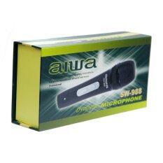 ขาย ซื้อ ไมโครโฟนร้องเพลง รุ่น Aiwa Sw 988 สีดำ กรุงเทพมหานคร