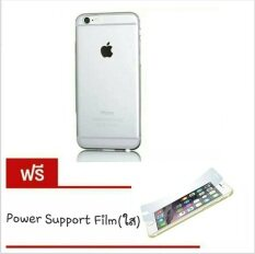 Air Jacket Case iPhone 6 / 6S (4.7) Clear (แถมฟรี Power Support Crystal Film)
