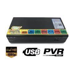ซื้อ Aj กล่องรับสัญญาณดิจิตอลทีวี รุ่น Dvb 93 Black ใหม่