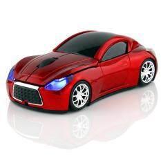 ขาย Ajusen 3D Hot Wireless Mouse Sports Car Shaped 2 4Ghz Optical Mouse Mice Car Mause 1200Dpi For Pc Laptop Computer Intl ถูก