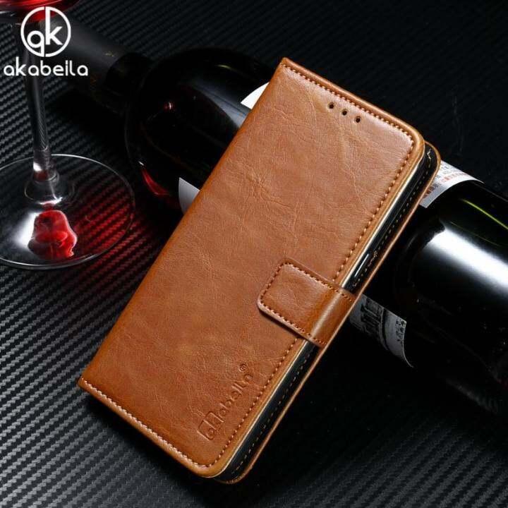 แนะนำ กระเป๋าถือหนัง AKABEILA สำหรับ Lenovo K3 หมายเหตุ K50 A7000 พลัส K3note มะนาว K50-