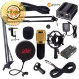 ซื้อ Alitech ชุด Bm800 พร้อม Phantom Power สำหรับบันทึกเสียง ชุดจัดเต็ม แถมฟรี Usb Sound Card 7 1 ใหม่ล่าสุด