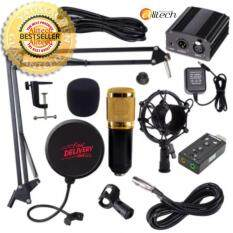 ราคา Alitech ชุด Bm800 พร้อม Phantom Power สำหรับบันทึกเสียง ชุดจัดเต็ม แถมฟรี Usb Sound Card 7 1 ใน กรุงเทพมหานคร