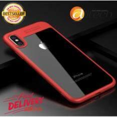 ซื้อ Alitech Full Protective Case For Iphone X Tpu Acrylic Hd Transparent Ultra Slim Back Cover For Apple Iphone X Case Iphonex Coque New ใหม่ล่าสุด