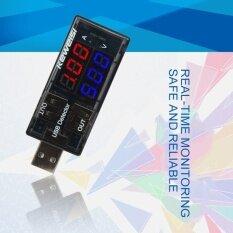 ขาย Allwin Dual Display Usb Tester Dc Digital Current Voltage Detector Charger Indicator Black Intl Unbranded Generic