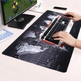 ขาย ซื้อ ออนไลน์ Allwin Large Size Non Slip World Map Speed Game Mouse Pad Gaming Mat For Laptop Pc 70Cm X 30Cm Intl