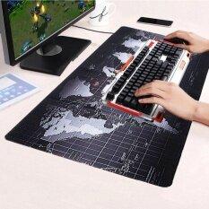 ราคา Allwin Large Size Non Slip World Map Speed Game Mouse Pad Gaming Mat For Laptop Pc 70Cm X 30Cm Intl Unbranded Generic ออนไลน์
