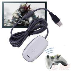Allwin พีซีคอนโทรลเลอร์ไร้สายยูเอสบีผู้รับอะแด็ปเตอร์สำหรับ Xbox 360.