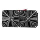 ทบทวน Aluminum 80Mm Water Cooling Cooled Row Heat Exchanger Radiator Fan For Cpu Pc Unbranded Generic