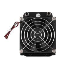 ราคา Aluminum 80Mm Water Cooling Cooled Row Heat Exchanger Radiator Fan For Cpu Pc เป็นต้นฉบับ