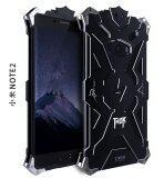 ขาย Aluminum Metal Bumper Shockproof Back Case Cover For Xiaomi Mi Note 2 Black Intl ออนไลน์