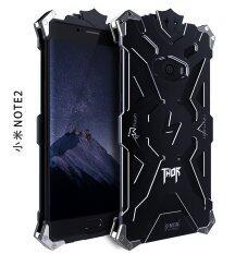 ซื้อ Aluminum Metal Bumper Shockproof Back Case Cover For Xiaomi Mi Note 2 Black Intl ใหม่ล่าสุด