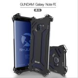 ซื้อ Aluminum Metal Shock Proof Frame Bumper Double Color Oxidation Aluminum Metal Case Cover For Samsung Note Fe Intl