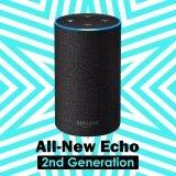 ขาย ซื้อ Amazon Echo 2Nd Generation With Improved Sound Powered By Dolby And A New Design Charcoal Fabric Intl เกาหลีใต้