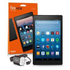 "Amazon Fire HD 8 Tablet with Alexa, 8"" HD Display, 16 GB, Black - with Special Offers (7th generation - 2017 release)"
