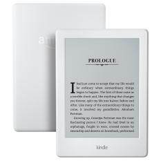 "Amazon Kindle E-reader - White, 6"" Glare-Free Touchscreen Display, Wi-Fi - Includes Special Offers"
