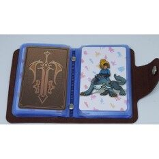 amiibo card Zelda (22 แผ่น) + แถมฟรี กระเป๋าหนัง สุดหรู