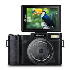 "Amkov 24MP Digital Camera FHD 1080P Video 3"" LCD Camcorder with UV Filter"