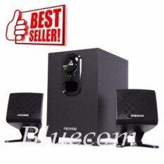 Microlab ลำโพง ระบบ 2.1 built-in amplifier 11 Watt Multimedia Speaker System Just Listen รุ่น M-108 (Black)
