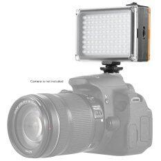 Andoer Ad-96 มินิแบบพกพาบนกล้องวิดีโอ Led ลงในแผงไฟ 5500กิโลไบต์/3200กิโลไบต์ Cri85+กับขาว และส้มตัวสำหรับ Canon Nikon Sony Dslr กล้องกล้องถ่ายวิดีโอ.