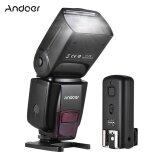 ราคา Andoer Ad560 Iv 2 4 กรัมไร้สายแฟลช Slave Speedlite ในกล้อง Gn50 กับ Flash Trigger สำหรับ Canon Nikon สำหรับ Sony A7 A7 Ii A7S A7R A7S Ii Dslr Andoer ฮ่องกง