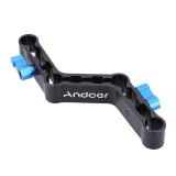 Andoer Adjustable Levers Z Shaped Offset Raiser Clamp Mount Bracket For 15Mm Rods On Dslr Shoulder Rig ถูก