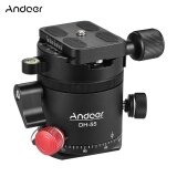 ส่วนลด สินค้า Andoer Dh 55 Indexing Rotator Hdr Panorama Panoramic Ball Head With 1 4 Quick Release Plate Bubble Level Bag Aluminum Alloy Max Load 15Kg 33Lbs For Camera Tripod Intl