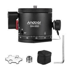 โปรโมชั่น Andoer Dh 55D Hdr Panorama Panoramic Ball Head With Indexing Rotator Aluminum Alloy Max Load 15Kg 33Lbs Intl Andoer