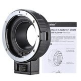 ส่วนลด Andoer Ef Eosm Lens Mount Adapter Support Auto Exposure Auto Focus And Auto Aperture For Canon Ef Ef S Series Lens To Eos M Ef M M2 M3 M10 Camera Body Support Image Stability Intl Unbranded Generic