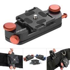 ขาย Andoer เข็ดขัดโลหะคล้องกล้อง เมาท์เข็มขัดห้อยกล้อง สำหรับกล้อง Canon Nikon Sony กล้อง Dslr รับน้ำหนักได้สูงสุด 20 กก ราคาถูกที่สุด