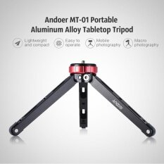ราคา Andoer Mt 01 Portable Aluminum Alloy Tabletop Tripod Mini Mobile Camera Photography Bracket With 1 4 Scr*w Mount Max Load 80Kg Intl ออนไลน์ จีน