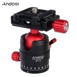 โปรโมชั่น Andoer Mt C1 Compact Size Panoramic Tripod Ball Head Adapter 360� Rotation Aluminium Alloy With Quick Release Plate Intl