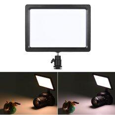 ขาย ซื้อ Andoer Pad 112 Slim Led Video Fill In Light Panel 3200K 5600K Adjustable Temperature Cri85 For Nikon Sony Canon Eos Camera Camcorder Intl ใน ฮ่องกง