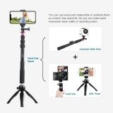 ซื้อ Andoer Selfie Stick Mini Tripod Phone Tripod Mount Wireless Remote Control For Iphone X 8 7 Plus For Samsung S8 For Gopro Hero 6 5 4 3 3 Action Camera For Digital Video Camera Photo Video Intl ถูก