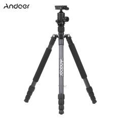 ขาย Andoer Tp 666C Professional Carbon Fiber Tripod Kit 4 Sections Camera Tripod With Ad 10 Ball Head Max Height 163Cm Load Capacity 6Kg Intl ใน ฮ่องกง