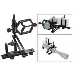 Andoer Universal โลหะกล้องโทรทรรศน์กล้องดิจิตอลอะแดปเตอร์   Bracket ผู้ถือสมาร์ทโฟนสำหรับ Spotting ขอบเขต   กล้องจุลทรรศน์เลนส์ Telephoto สำหรับ Iphone 7 Plus/7/6 วินาที/6plus   Outdoorfree ^.
