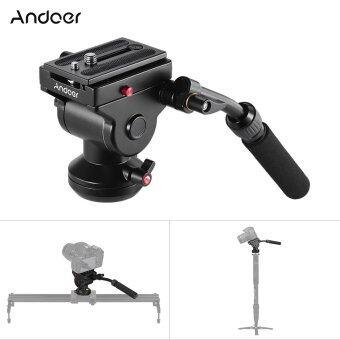 Andoer หัวแพนสำหรับถ่ายวีดิโอ สำหรับ กล้องวิดีโอ Canon Nikon Sony DSLR