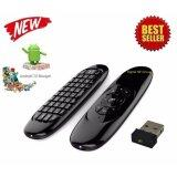 ส่วนลด Android Tv Box C120 Air Mouse Mini Wireless Keyboard Gyro Air Fly Mouse Himedia