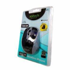 ขาย Anitech W214 Mouse Wireless Grey เมาส์ ไร้สาย สีเทา เป็นต้นฉบับ