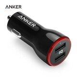 Anker A2310 24W Dual Usb Car Charger Powerdrive 2 For Iphone Samsung Galaxy Lg G4 G5 Google Nexus Ios And Android Devices Intl เป็นต้นฉบับ
