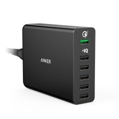 Anker Powerport 6 With Quick Charge 3 Black ใน Thailand