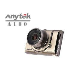 "Anytek กล้องหน้าติดรถยนต์ รุ่น A100+ Car DVR Camera Recorder 3"" เมนูไทย / WDR / 170 Wide / Full HD 1080P /"