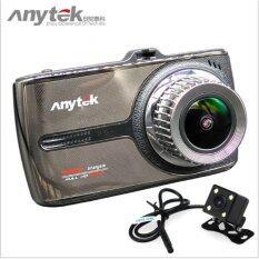 ซื้อ กล้องติดรถยนต์ Anytek G66 กล้องหน้า หลัง จอทัชสกรีน Chipset Novatek 96655 Sensor Sony Imx323 ใหม่ล่าสุด