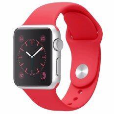 Aokery แอปเปิ้ลนาฬิกา 42 มิลลิเมตรใหม่ซิลิโคนอ่อนแบบสปอร์ตเปลี่ยนหน้าจอแอปเปิ้ลสำหรับแอปเปิ้ลนาฬิกาข้อมือ