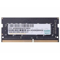 APACER RAM - FOR NOTEBOOK NB BUS 2400 (DDR4) 8/2400 APACER SO-DIMM